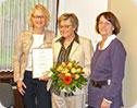 Ehrenvorsitz für Walburga Schepers