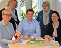 Vertreter der Lingener CDU informieren sich über die Arbeit von donum vitae.