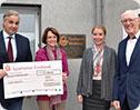 "Firma Herbers aus Spelle unterstützt ""Wellcome-Projekt"""