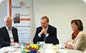 Albert Stegemann (MdB) und Hermann Kues zu Besuch bei donum vitae