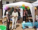 """Donum vitae beim """"Internationalen Fest"""" in Papenburg"""