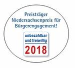 Logo Preisträger unbezahlbar und freiwillig